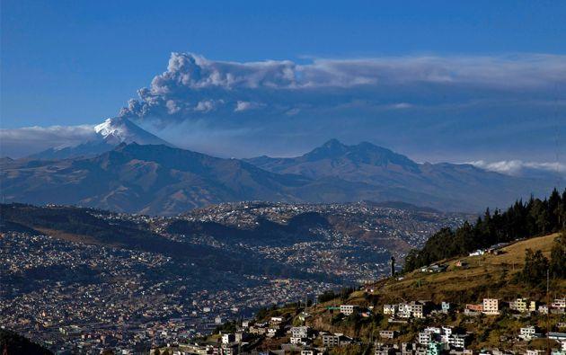 Volcán Cotopaxi. Foto: REUTERS