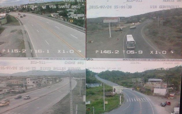 Foto: Servicio Integrado de Seguridad ECU-911.