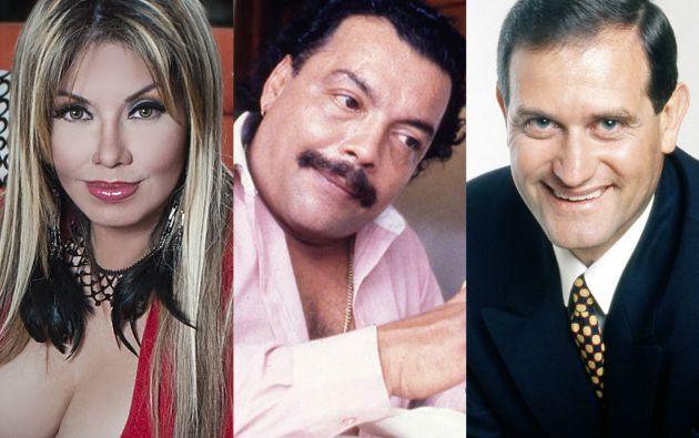 """""""Sharon, La Hechicera"""", Pablo Anibal Vela """"El Rey de la cantera"""" y Eduardo González."""