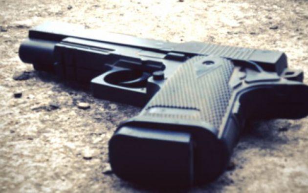 El presunto autor del crimen después se disparó en la cabeza. Foto referencial.