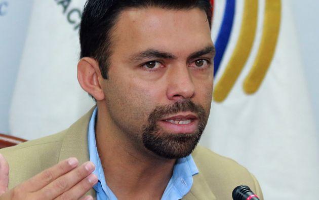 El presidente del CNE, Juan Pablo Pozo. Foto: Internet