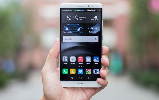El Mate 8, la nueva estrella de Huawei.