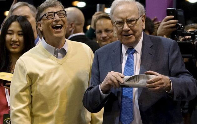 Bill Gates y Warren Buffett. Foto: Reuters