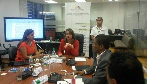Foto: tomada de la cuenta de Twitter de la Comisión de Derechos de los Trabajadores de la Asamblea.