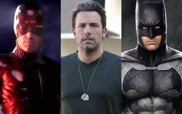 Ben Affleck, quien fuera Daredevil hace varios años, espera ganarse a los fanáticos como el nuevo Batman.