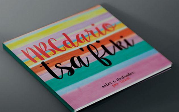 Publicación. Los colores del libro se basan en la cromática del vestuario de los tsáchilas.