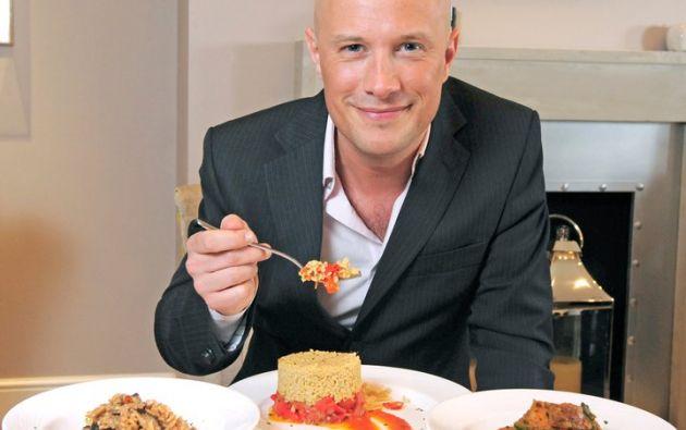 """Dale Pinnock, el """"chef medicinal""""."""