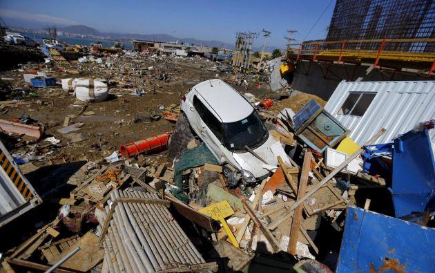 El 16 de septiembre de 2015, Chile soportó un sismo de 8,3º que dejó 15 fallecidos. Foto: Reuters