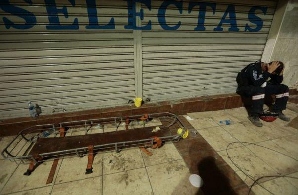 Las víctimas de un terremoto presentan signos de depresión y ansiedad después de movimientos telúricos. Foto: AFP