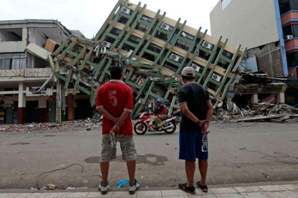 Portoviejo es una de las ciudades afectadas por el sismo en Ecuador. Foto: AFP