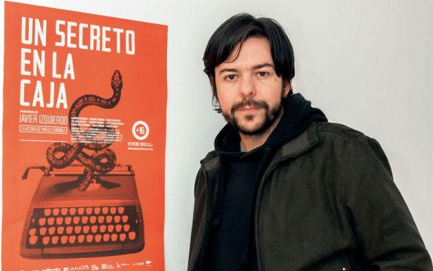 Javier Izquierdo es el director de este interesante falso documental. Foto: Segundo Espín