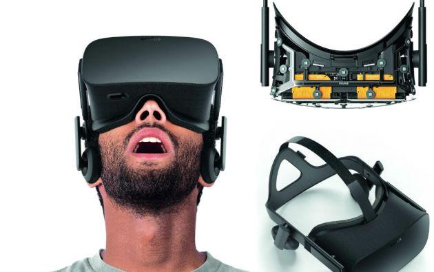 Oculus Rift. (Facebook), uno de los dispositivos VR más anunciados. Empezó a despacharse a finales de marzo.