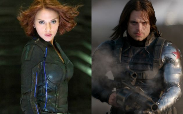 """Black Widow"" y ""The Winter Soldier"""