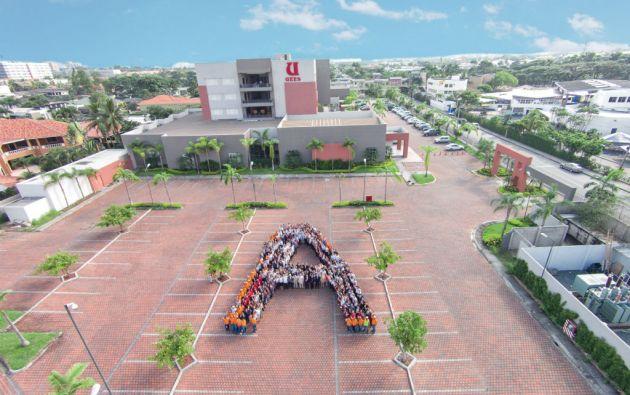 La UEES se convirtió en una de las cuatro universidades ecuatorianas en categoría A. Foto: cortesía UEES