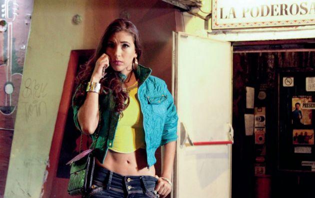 Ana Lucía Silva, la actriz colombiana que interpreta el rol de Tamara, la tercera de la discordia.