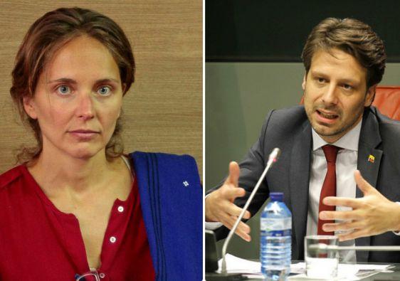 La catedrática y el funcionario fueron entrevistados en Ginebra por Vistazo. Foto: Redacción.