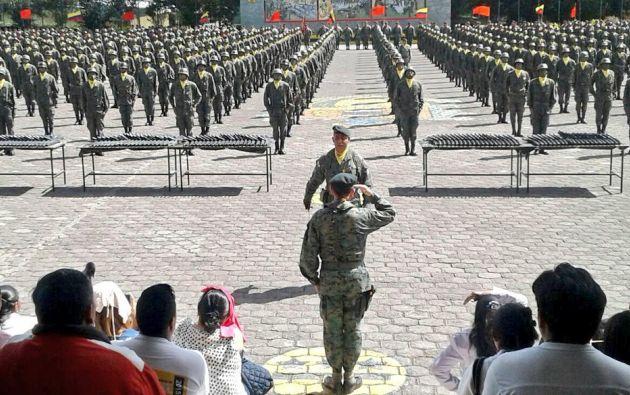 Foto: Ejército Ecuador