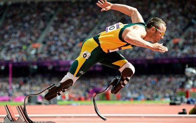 Giro del destino. Hace cuatro años, en los Juegos Olímpicos de Londres, Pistorius llegaba a semifinales de la prueba de 400 metros.