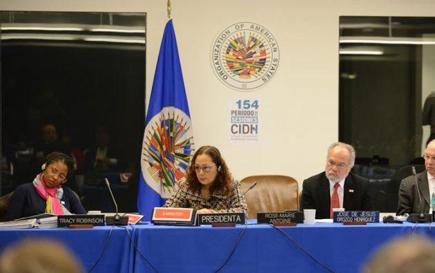 """El exsecretario de CIDH alertó de una democracia debilitada en Ecuador por la supuesta represión """"extrema""""."""
