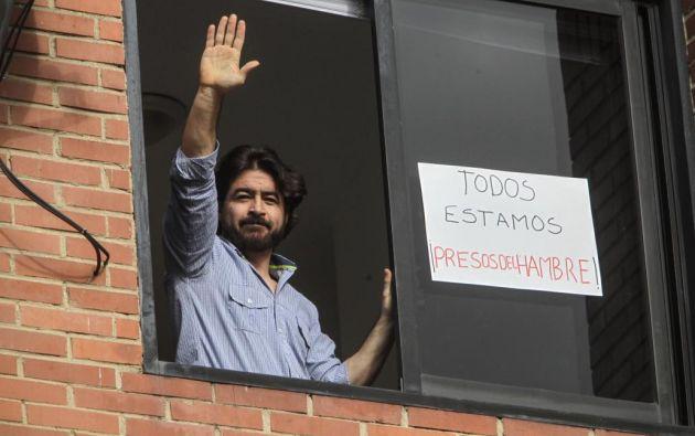 VENEZUELA.- Daniel Ceballos, quien cumple arresto domiciliario desde hace un año, es acusado de planear fugarse. Foto: Archivo
