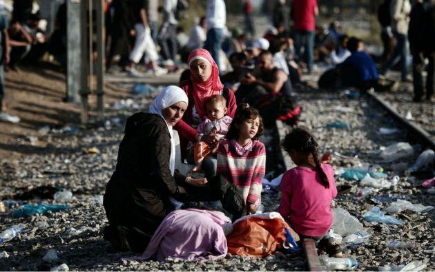 LÍBANO.- El enviado especial de la ONU por Ecuador viajó a Líbano, donde visitó un campo de refugiados sirio en la región oriental de la Bekaa. Foto: Archivo