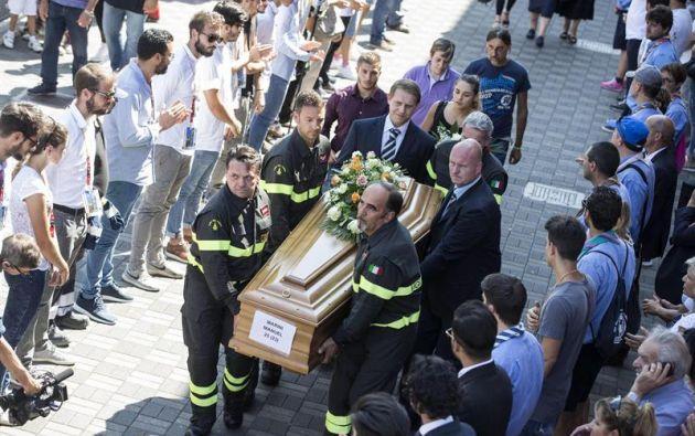 ITALIA.- Un nuevo recuento provisional cuantifica al menos 290 fallecidos tras el fuerte terremoto en el centro del país. Foto: EFE