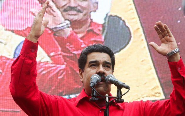 """VENEZUELA.- El mandatario ordenó al pueblo chavista no confiarse """"del imperialismo"""" y luchar """"hasta que se restituya al presidente constitucional"""" en caso de un golpe de Estado. Foto: Agencias"""
