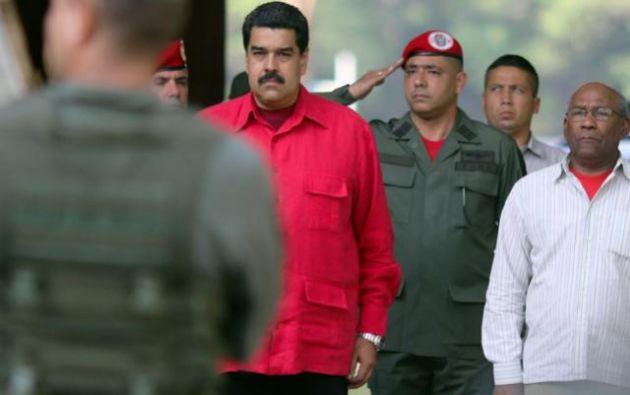 Las detenciones se produjeron este viernes durante un recorrido de Maduro a la comunicad de Villa Rosa.