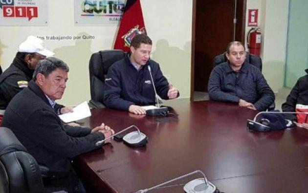 El alcalde aseguró que el sistema de albergues que dispone el municipio está listo e hizo un llamamiento a la población a que reporte eventuales daños en viviendas.