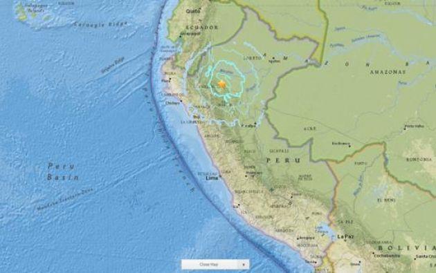 El Geofìsico Nacional emitió un reporte sobre el evento ocurrido en Nueva Cajamarca.
