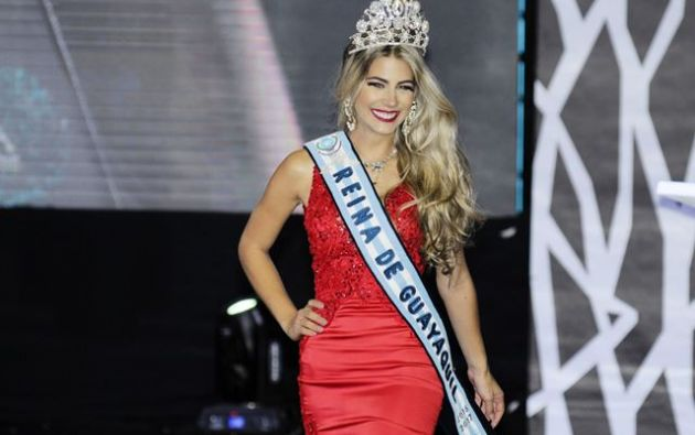 Meitzner también obtuvo el título de Miss Fotogenia. Foto: Twitter Nelly Morillo.
