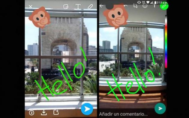 WhatsApp también actualizará su servicio para Android para permitir a los usuarios compartir imágenes en formato GIF. Foto: EPMundo.
