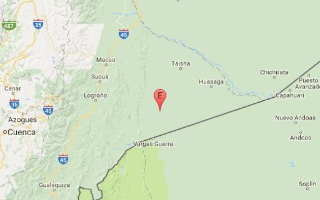 QUITO, Ecuador.- Según el Instituto Geofísico, el sismo ocurrió a las 14:59. Foto: Twitter Instituto Geofísico.