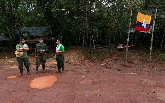 Miembros de las FARC en Colombia. Foto: REUTERS.
