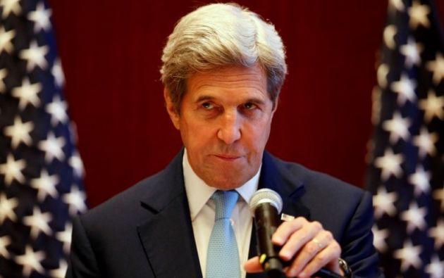John Kerry, Secretario de Estado de EE.UU. Foto: REUTERS.