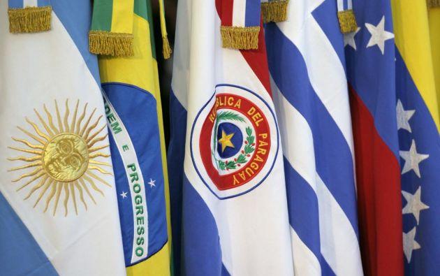 Argentina, Brasil, Paraguay y Uruguay asumirán de forma colegiada la presidencia. Foto: Archivo / Ecuavisa.