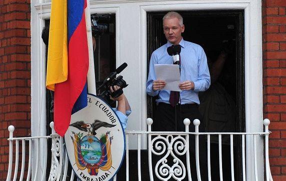 Assange cumplió el pasado 19 de junio cuatro años en la embajada ecuatoriana | Foto: Internet
