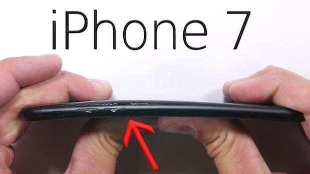 El iPhone 7 parece no tener toda la resistencia que se esperaba.