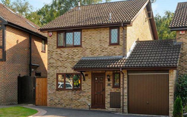 La dirección real de la casa es Picket Post Close N° 12, en el barrio de Bracknell. Foto: The Independent.