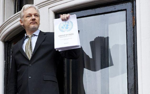 la Fiscalía está en proceso de definir quién será el mediador ecuatoriano que participará en el interrogatorio a Assange. Foto: AFP