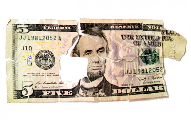 Se podrán canjear los billetes laminados, es decir, que estén excesivamente deteriorados. Foto: Ecuavisa.