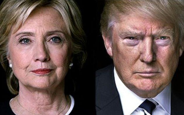 WASHINGTON, EE.UU.-Clinton tratará de reforzar su imagen de mujer de Estado, mientras Trump podría verse limitado a aplicar una estrategia de reducción de daños. Foto: Collage.
