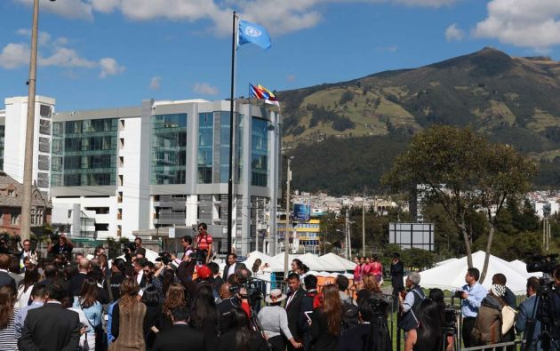 ECUADOR.- El Gobierno espera un retorno financiero de USD 94 millones. La cita, organizada por la ONU, congregará a más de 35.000 participantes. Foto: API