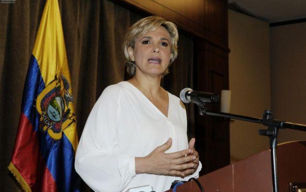 La precandidata presidencial por la Unidad dijo que su cuenta con adhesión nacional. Foto: API.