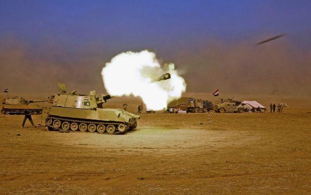El ejército anunció que la presencia de civiles dificulta las operaciones en la ciudad. Foto: AFP.