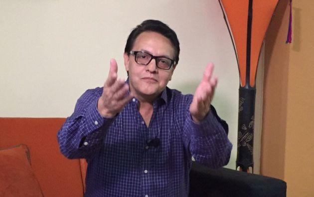 Lo dispuesto por la Unidad Judicial de Pichincha impediría al periodista una postulación para los comicios de 2017. Foto: Ecuavisa.