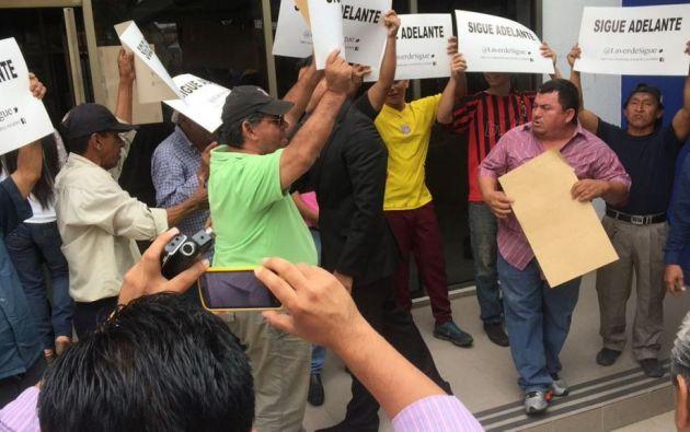 Una de las razones de la desafiliación sería su adhesión al colectivo de la Unidad. Foto: Twitter.