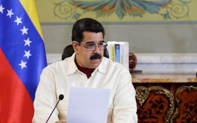 """El presidente de Venezuela, Nicolás Maduro, aseguró que está listo para conversar """"con el mismísimo diablo"""" si es necesario. Foto: Archivo"""