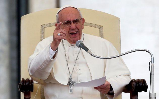 """Francisco denunció que """"la falta de memoria histórica hace pensar que está ocurriendo sólo en estos años"""". Foto: REUTERS."""