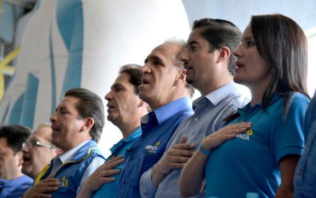 La desintegración de la Unidad que respaldaba a la candidatura de Cynthia Viteri se reflejó también en el partido Avanza. Foto: Avanza.